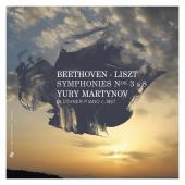 Album artwork for Beethoven: Symphonies 3 & 8 (Liszt piano transcrip