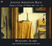 Album artwork for J.S. Bach: Trio sonatas for Organ, BWV 525-530