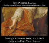Album artwork for Rameau: Les Surprises de l'Amour, transcriptions
