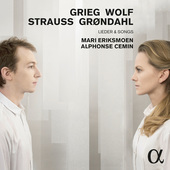 Album artwork for Grieg & Wolf: LIEDER & SONGS