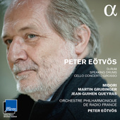 Album artwork for Eotvos: Violin Concerto #2, Cello Concerto