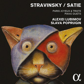 Album artwork for Stravinsky ? Satie: PARIS JOYEUX & TRISTE