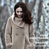 Album artwork for Bach & Brahms / Vinnitskaya