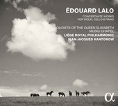 Album artwork for Lalo: Concertante Works for Violin, Cello & Piano