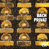 Album artwork for Bach Privat