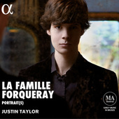 Album artwork for La famille Forqueray / Justin Taylor