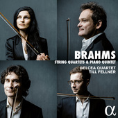 Album artwork for Brahms: String Quartets & Piano Quintet