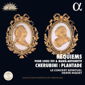 Album artwork for Cherubini & Plantade: Requiems