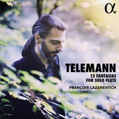 Album artwork for Telemann: 12 Fantasias for Solo Flute