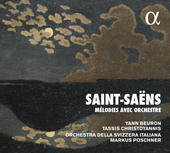 Album artwork for Saint-Saëns: Mélodies avec orchestre