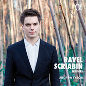 Album artwork for Ravel & Scriabin: Piano Works / Tyson