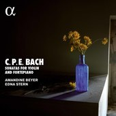Album artwork for C.P.E. Bach: Violin Sonatas / Beyer, Stern