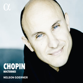 Album artwork for Chopin: Nocturnes / Nelson Goerner