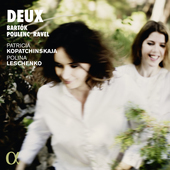 Album artwork for Deux / Kopatchinskaja, Leshenko