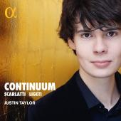 Album artwork for CONTINUUM - Scarlatti & Ligeti / Taylor