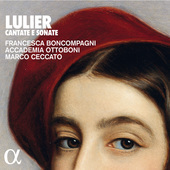 Album artwork for Lulier: Cantate e sonate