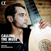 Album artwork for CALLING THE MUSE (LP) / BRUNO HELSTROFFER