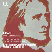 Album artwork for Liszt: Faust Symphony, S. 108