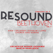 Album artwork for Resound Beethoven, Vol. 5: Symphony No. 9 in D Min