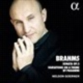 Album artwork for Brahms: Sonata, Op. 5 - Variations on a Theme by P