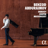 Album artwork for DEBUSSY / CHOPIN / MUSSORGSKY: Abduraimov, Behzod