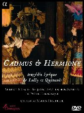 Album artwork for Lully: Cadmus & Hermione