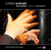 Album artwork for Piano Rarities Vol. 3: Transcriptions - Katsaris