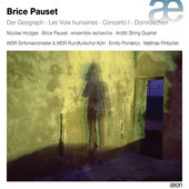 Album artwork for Brice Pauset: Ensemble & Orchestral Works