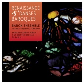 Album artwork for Renaissance & Baroque Dances. Siqueira/Barok Ensem