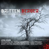 Album artwork for Britten: Violin Concerto, Berger: Jiyeh / Sohn