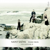 Album artwork for SAINT-SAENS. Piano Trios Nos.1 & 2. Trio Latitude