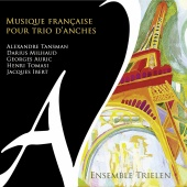 Album artwork for French Music for Reed Trio. Ensemble Trielen