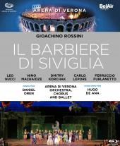 Album artwork for Rossini: Il Barbiere di Siviglia Blu-ray / Nucci