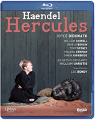 Album artwork for Handel: HERCULES (BLURAY) / DiDonato
