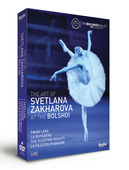 Album artwork for The Art of Svetlana Zakharova at the Bolshoi