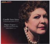 Album artwork for Saint-Saens: Piano Concertos Nos. 2 & 5 (Engerer)