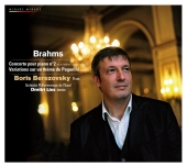 Album artwork for Brahms: Second Piano Concerto / Berezovsky