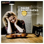 Album artwork for Faure, Saint-Saens: Works for Violin. Nemtanu/Pari