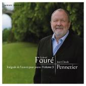 Album artwork for Faure: Complete Piano Works vol.3 / Pennetier