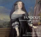 Album artwork for Pandolfi: Sonate à violino solo. Opera Terza