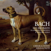 Album artwork for Bach: 6 Sonatas for Violin & Harpsichord