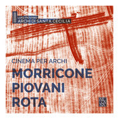 Album artwork for Cinema per Archi - Morricone & Rota
