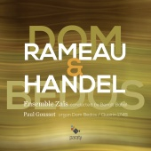 Album artwork for RAMEAU. HANDEL. Organ Concertos. Goussot/Ensemble