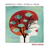 Album artwork for Brass Bang. Bernstein, Fresu, Petrella & Rojas
