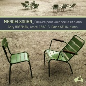 Album artwork for Mendelssohn: Works for Cello and Piano / Hoffman