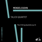 Album artwork for MENDELSSOHN. String Quartets Op.44. Talich Quartet