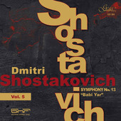 Album artwork for SYMPHONY NO. 13 ?BABI YAR?