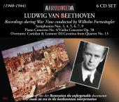 Album artwork for Furtwangler conducts Beethoven - War era recording