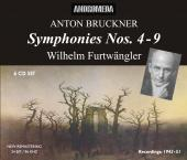 Album artwork for Bruckner: Symphonies 4-9 / Furtwangler