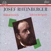 Album artwork for Josef Rheinberger Edition Integrale: Kammermusik